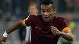 Ashley Cole makes Roma debut