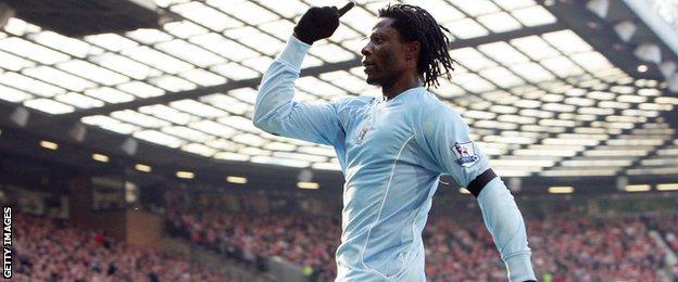 Benjani Manchester City