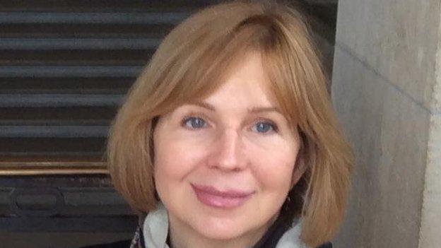Iryna Dovgan's Facebook page