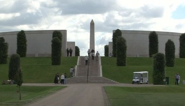 The National Armed Forces Memorial commemorates more than 16,000 people who have died on duty since World War Two.