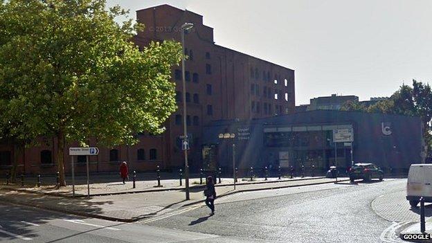 Area on Newark Street