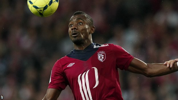Hertha Berlin striker Salomon Kalou