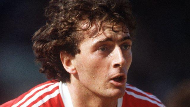 Britain's first million pound footballer Trevor Francis