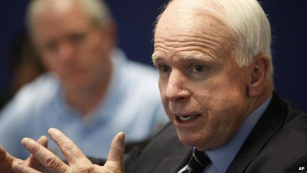 John McCain, 21 Aug