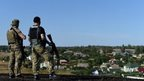 Ukrainian soldiers in Mariupol, 30 Aug