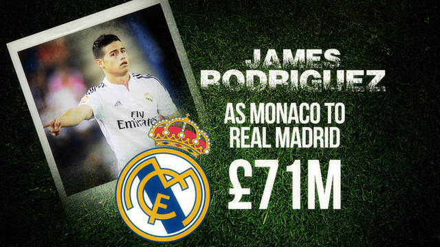 BBC Sport rounds up some of the big money moves in European football this summer