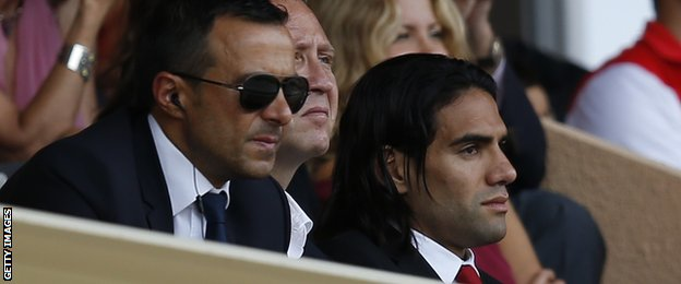 New Manchester United loanee Radamel Falcao