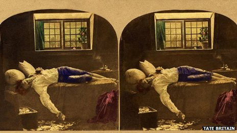 Chatterton's Henry Wallis in stereoscope