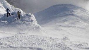 Climbers in Glencoe