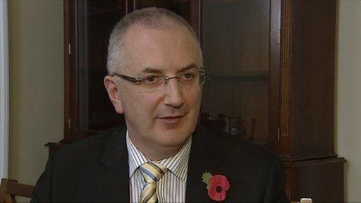 Transport minister Danny Kennedy