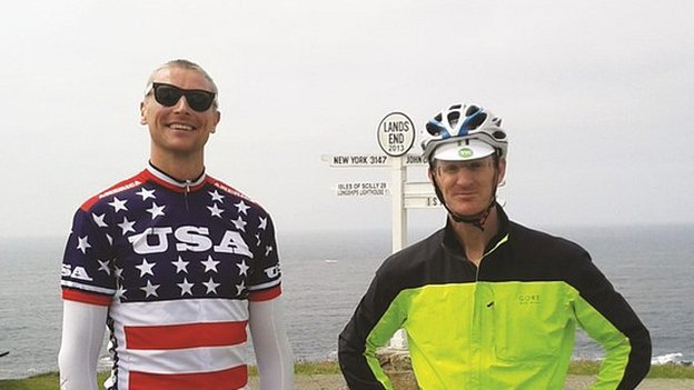 Toby Wallace (left) and Andrew McMenigall