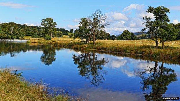 River Derwent at Chatsworth House
