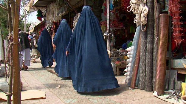 Women in Pul-e-Khumri