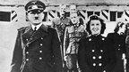 Adolf Hitler and Eva Braun in 1943