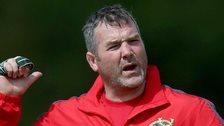 Munster coach Anthony Foley