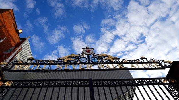 Anfield gates