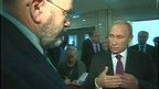 BBC's John Sweeney talks to Russian President Vladimir Putin