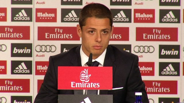 Javier Hernandez says Real Madrid move is 'dream come true'