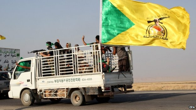 Kataib Hezbollah militia vehicle - 1 September