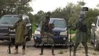 File picture of Boko Haram leader Abubakar Shekau (centre)