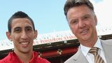 Louis van Gaal and Angel Di Maria
