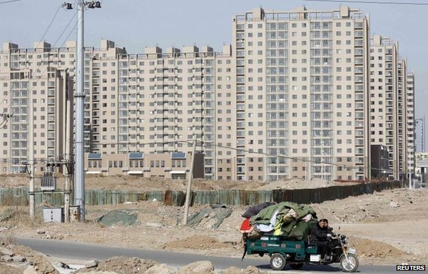 New flats in China