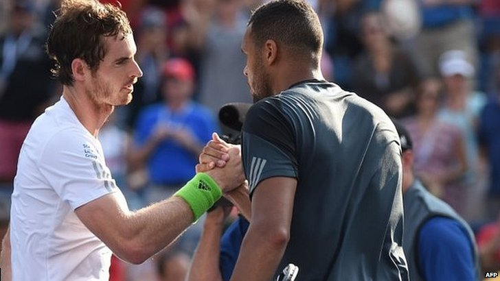 Murray beats Jo-Wilfried Tsonga
