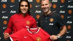 Radamel Falcao signs for Manchester United