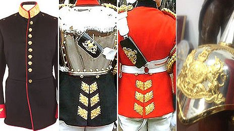 Ceremonial garments stolen from Haringey