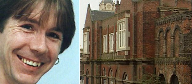 Scott Rogers circa 1994 and exterior view of dance academy in Bury St Edmunds
