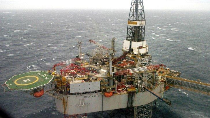 Buzzard oil field