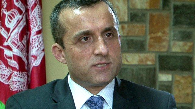Former Afghan National Security Adviser Amrullah Saleh