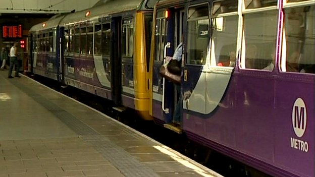 Northern Rail Pacer train