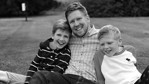 Adam Nash and sons Isaac and Xander