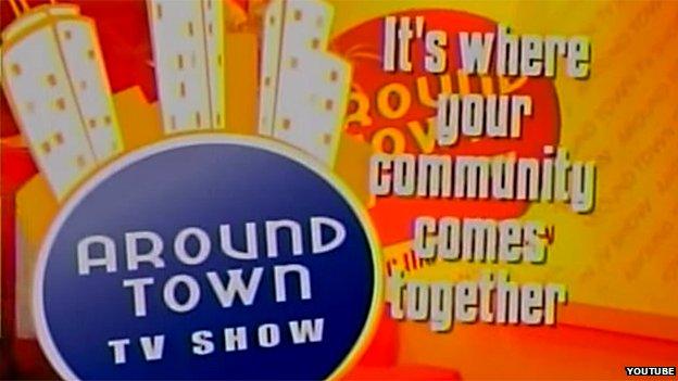 Around Town TV Show logo