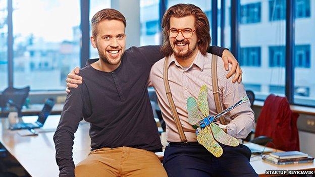 Bui Adalsteinsson and Stefan Thoroddsen