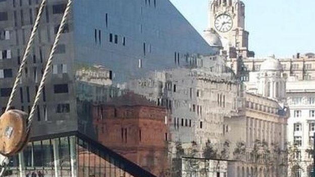 reflection of Liverpool