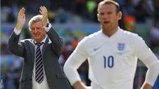 England manager Roy Hodgson and captain Wayne Rooney