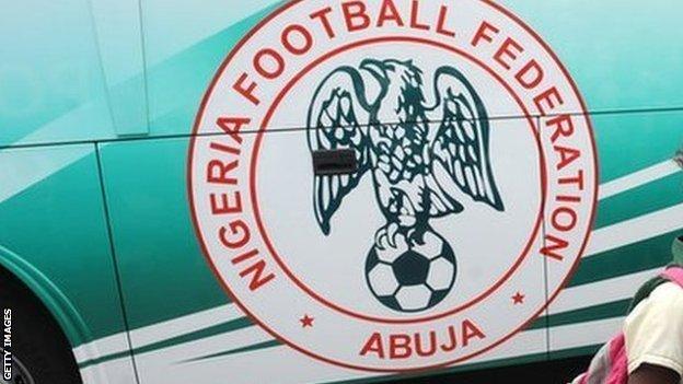 The Nigeria Football Federation logo