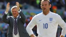 England manager Roy Hodgson and captain Wayne Rooney