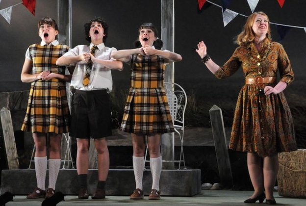 Mid Wales Opera performs Albert Herring by Benjamin Britten
