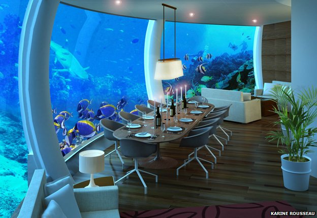 Homes Where You Can Live Under The Sea Bbc News