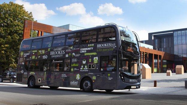 New Gyrodrive bus
