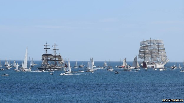 Tall Ships in Falmouth