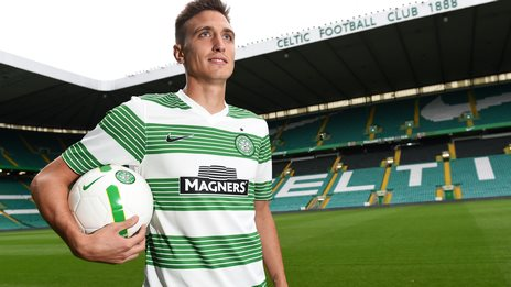 New Celtic signing Stefan Scepovic