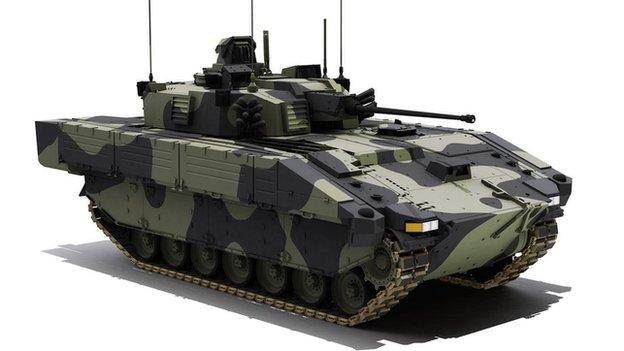 ASCOD SV under development by General Dynamics UK