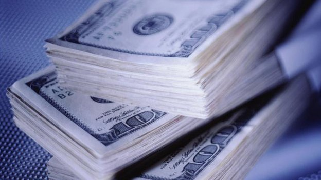 Pile of dollars (file picture)