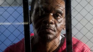 Henry McCollum, 50, on death row in North Carolina