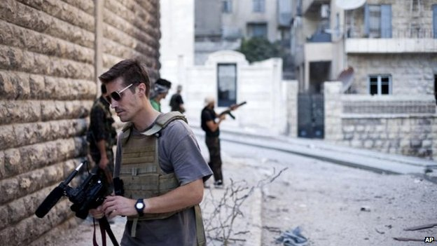 James Foley, Aleppo 2012