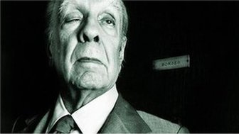File photo of Jorge Luis Borges